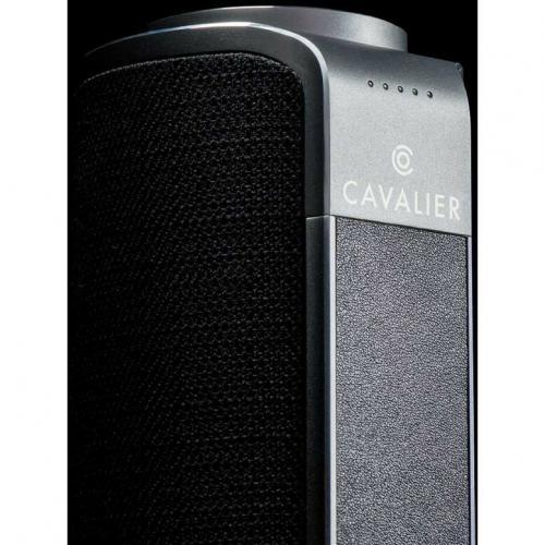 Cavalier Maverick CAV1BB PLUS Portable Bluetooth Smart Speaker   Black Alternate-Image6/500