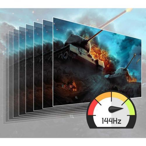 "Viewsonic Elite XG240R 24"" Full HD LED Gaming LCD Monitor   16:9   Black Alternate-Image6/500"