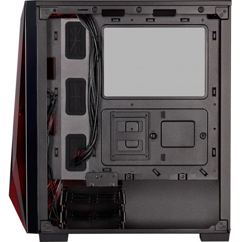 Corsair Carbide Series SPEC DELTA RGB Tempered Glass Mid Tower ATX Gaming Case   Black Alternate-Image6/500