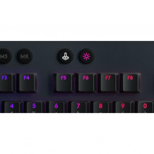 Logitech G815 Lightsync RGB Mechanical Gaming Keyboard Alternate-Image6/500