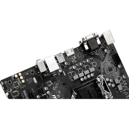 MSI H310M PRO VDH PLUS Gaming Motherboard     Intel Chipset   Socket H4 LGA 1151   32GB DDR4   X Boost   Ez Debug LED Alternate-Image6/500