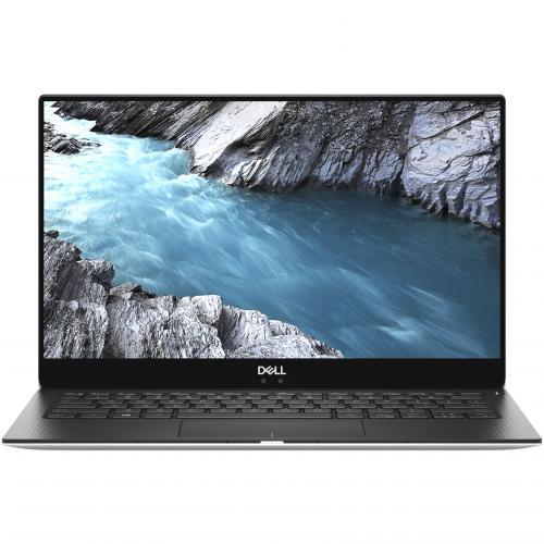 "Dell XPS 13 9380 13.3"" Touchscreen Notebook   Intel Core I7 (8th Gen) I7 8565U Quad Core (4 Core)   8 GB RAM   256 GB SSD   Platinum Silver, Carbon Fiber Black Alternate-Image6/500"