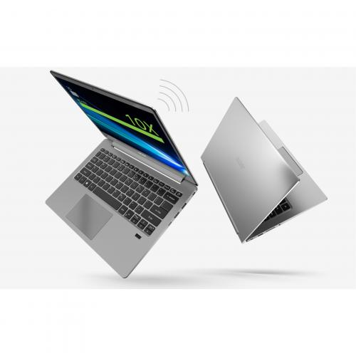 "Acer Swift 3 SF314 55 SF314 55 58P9 14"" Notebook   Full HD   1920 X 1080   Intel Core I5 (8th Gen) I5 8265U Quad Core (4 Core) 1.60 GHz   8 GB RAM   256 GB SSD   Silver Alternate-Image6/500"
