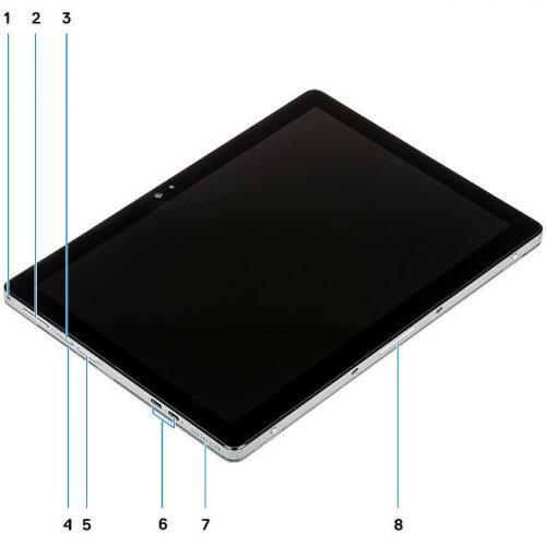"Dell Latitude 7000 7200 Tablet   12.3""   16GB RAM   512GB SSD   Windows 10 Pro 64 Bit Alternate-Image6/500"