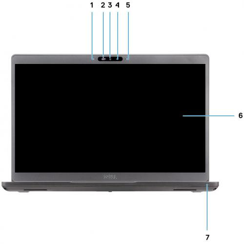 """Dell Latitude 5000 5401 14"""" Notebook   1920 X 1080   Intel Core I7 (9th Gen) I7 9850H Hexa Core (6 Core) 2.60 GHz   16 GB RAM   512 GB SSD Alternate-Image6/500"""