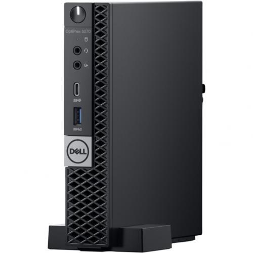 Dell OptiPlex 5000 5070 Desktop Computer   Intel Core I5 9th Gen I5 9500T 2.20 GHz   8 GB RAM DDR4 SDRAM   256 GB SSD   Micro PC Alternate-Image6/500