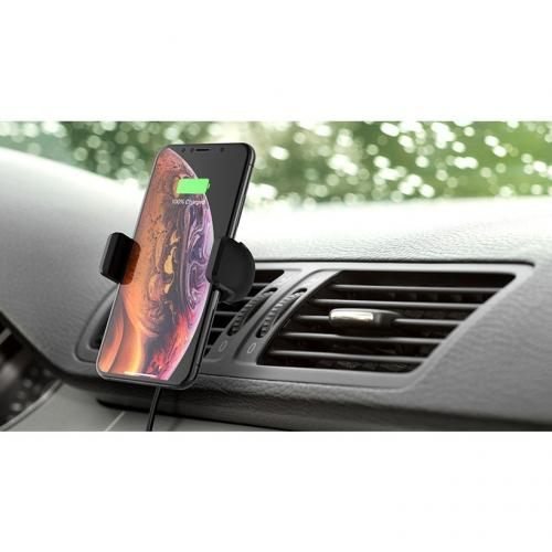 Belkin Wireless Charging Vent Mount 10W   Wireless Car Charger Alternate-Image6/500