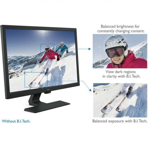 """BenQ GL2480 23.8"""" Full HD WLED LCD Monitor   16:9   Black Alternate-Image6/500"""