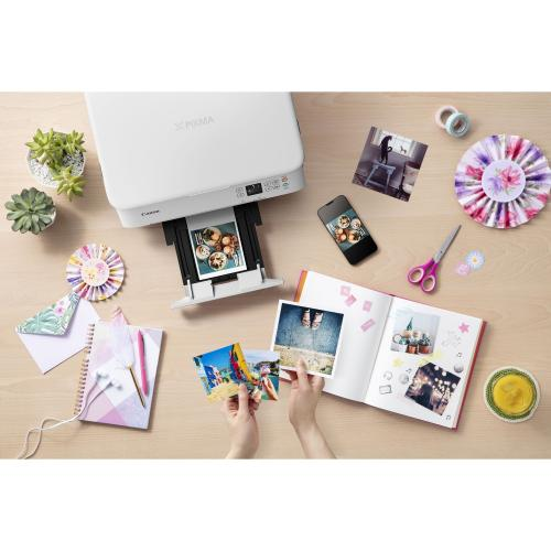Canon PIXMA TS TS5320 White Inkjet Multifunction Printer   Color Alternate-Image6/500
