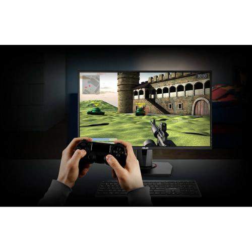 "Asus VG278QR 27"" Full HD LED Gaming LCD Monitor   16:9   Black Alternate-Image6/500"
