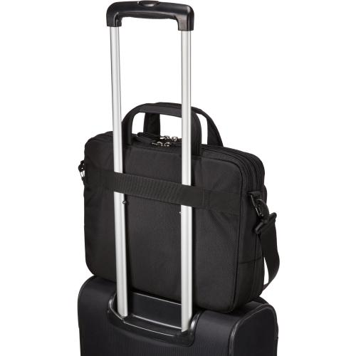 """Case Logic Carrying Case (Briefcase) For 14"""" Notebook, Tablet PC, Portable Electronics, Accessories   Black Alternate-Image6/500"""
