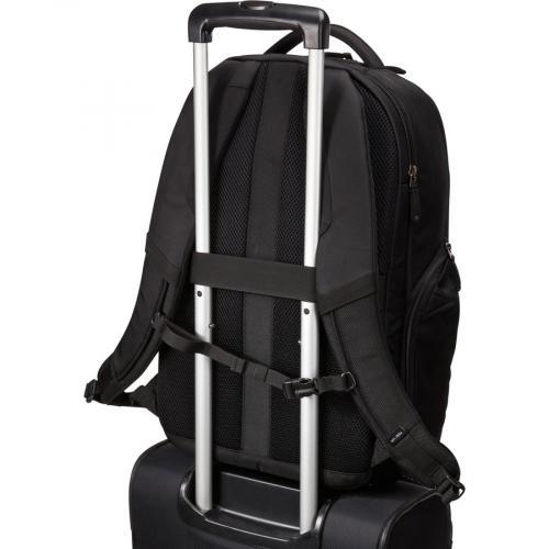 "Case Logic Notion Carrying Case (Backpack) For 17"" To 17.3"" Notebook   Black Alternate-Image6/500"