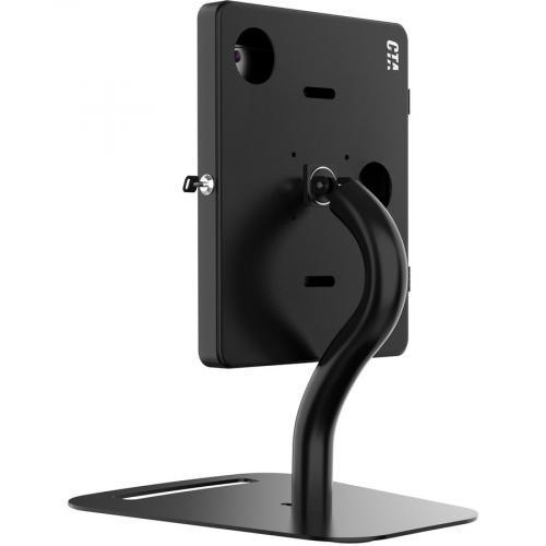 CTA Digital Premium Height Adjustable Floor To Desk Security Kiosk For Tablets Alternate-Image6/500