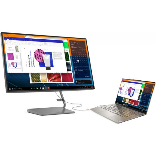 "Lenovo Q27h 10 27"" WQHD WLED LCD Monitor   16:9   Gray Alternate-Image6/500"