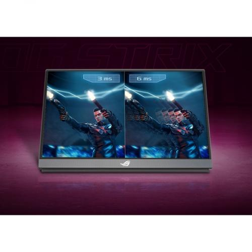 "Asus ROG Strix XG17AHPE 17.3"" Full HD Gaming LCD Monitor   16:9   Black Alternate-Image6/500"