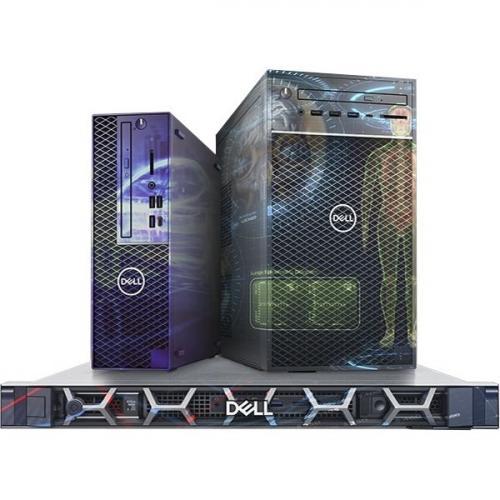 Dell Precision 3000 3630 Workstation   Core I7 I7 9700   32 GB RAM   512 GB SSD   Mini Tower Alternate-Image6/500