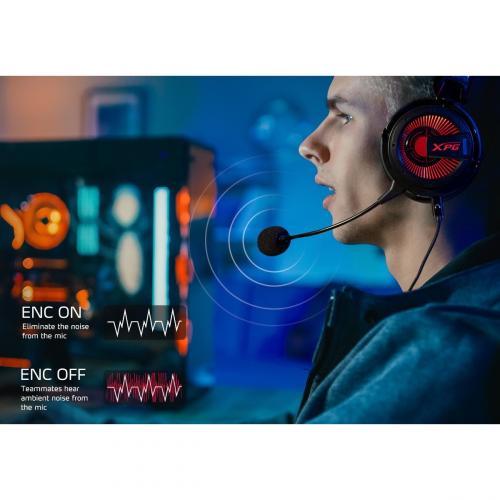 XPG PRECOG Gaming Headset Alternate-Image6/500