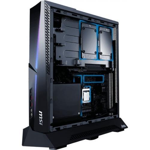 MSI MEG Trident X 10th 10SD 864US Gaming Desktop Computer   Intel Core I7 10th Gen I7 10700K(F)   32 GB RAM DDR4 SDRAM   1 TB SSD Alternate-Image6/500