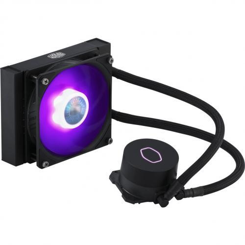 Cooler Master MasterLiquid ML120L V2 RGB Cooling Fan/Radiator/Water Block Alternate-Image6/500