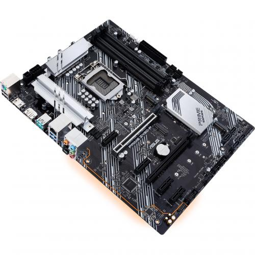Asus Prime Z490 P Desktop Motherboard   Intel Chipset   Socket LGA 1200 Alternate-Image6/500