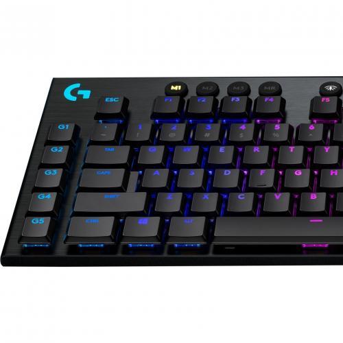 Logitech G915 TKL Tenkeyless Lightspeed Wireless RGB Mechanical Gaming Keyboard Alternate-Image6/500