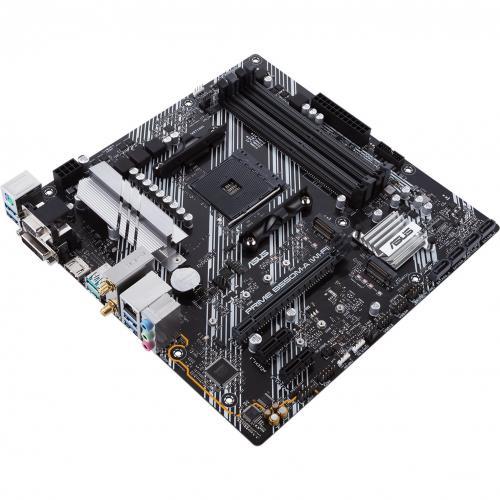 Asus Prime B550M A (WI FI) Desktop Motherboard   AMD Chipset   Socket AM4   Micro ATX Alternate-Image6/500