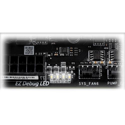 MSI B550M PRO VDH WIFI Desktop Motherboard   AMD Chipset   Socket AM4   Micro ATX Alternate-Image6/500