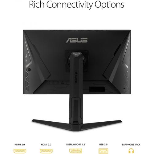 "TUF VG27AQL1A 27"" WQHD WLED Gaming LCD Monitor   16:9   Black Alternate-Image6/500"