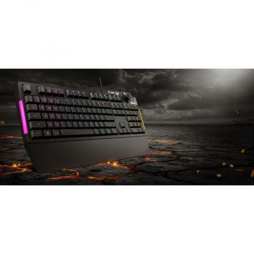 TUF K1 Gaming Keyboard Alternate-Image6/500