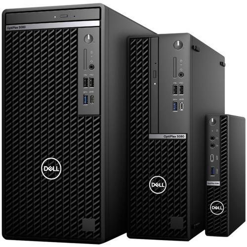 Dell OptiPlex 5000 5080 Desktop Computer   Intel Core I5 10th Gen I5 10500T Hexa Core (6 Core) 2.30 GHz   8 GB RAM DDR4 SDRAM   128 GB SSD   Micro PC Alternate-Image6/500
