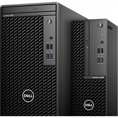 Dell OptiPlex 3000 3080 Desktop Computer   Intel Core I3 10th Gen I3 10100 Quad Core (4 Core) 3.60 GHz   8 GB RAM DDR4 SDRAM   128 GB SSD   Small Form Factor Alternate-Image6/500