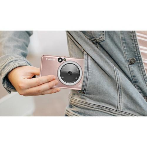 Canon IVY CLIQ+2 8 Megapixel Instant Digital Camera   Rose Gold Alternate-Image6/500