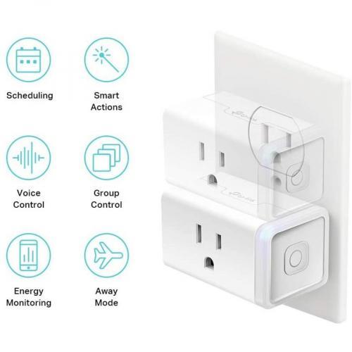 Kasa Smart WiFi Plug Slim With Energy Monitoring Alternate-Image6/500