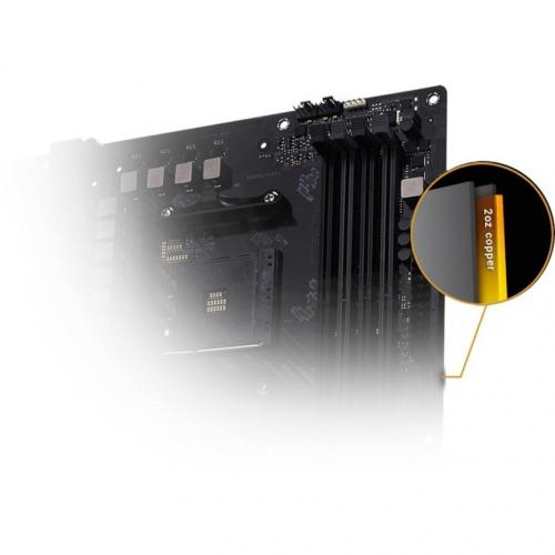 TUF GAMING B450 PLUS II Desktop Motherboard   AMD Chipset   Socket AM4   ATX Alternate-Image6/500