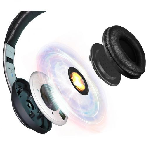 Xtream P500   Bluetooth Stereo Headphone With Built In Microphone Alternate-Image6/500