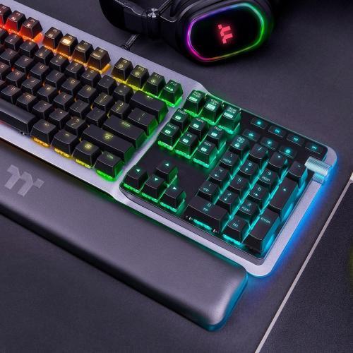 Thermaltake ARGENT K5 RGB Gaming Keyboard Cherry MX Speed Silver Alternate-Image6/500