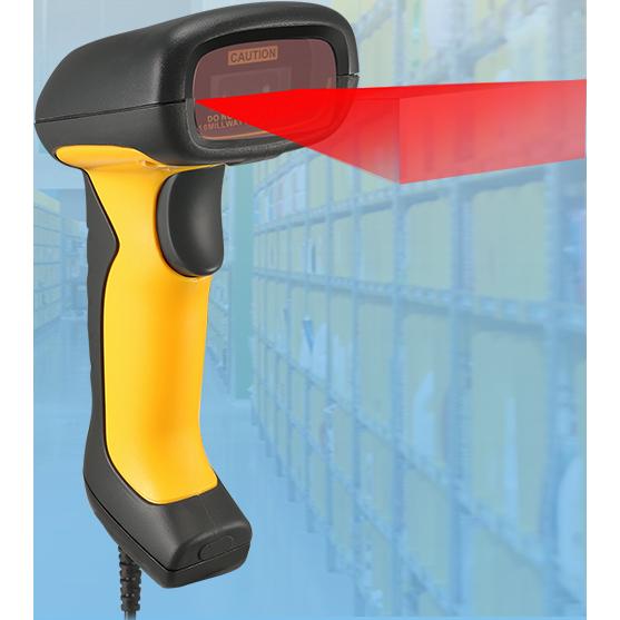 Adesso NuScan 5200TU  Antimicrobial & Waterproof 2D Barcode Scanner Alternate-Image7
