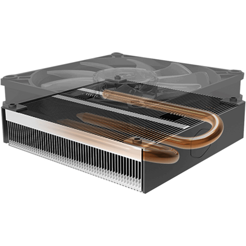 Cooler Master MasterAir G200P Low Profile 2 Heat Pipe Cooler With RGB Fan Alternate-Image7/500