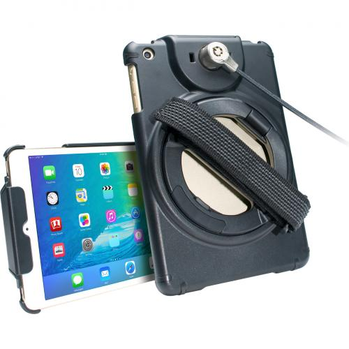 CTA Digital Anti Theft Case With Built In Grip Stand For IPad Mini Alternate-Image7/500