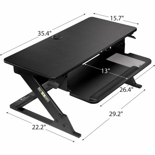 3M Precision Standing Desk Alternate-Image7/500