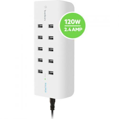 Belkin RockStar 10 Port USB Charging Station Alternate-Image7/500