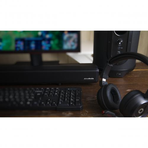 AVerMedia SonicBlast GS333 2.1 Bluetooth Sound Bar Speaker   60 W RMS   Black, Blue Alternate-Image7/500