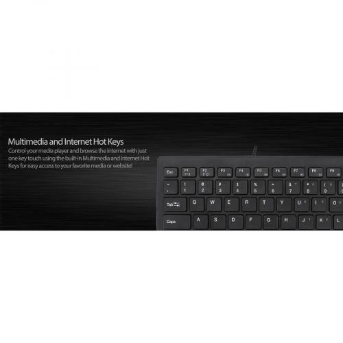Adesso SlimTouch 111 Keyboard Alternate-Image7/500