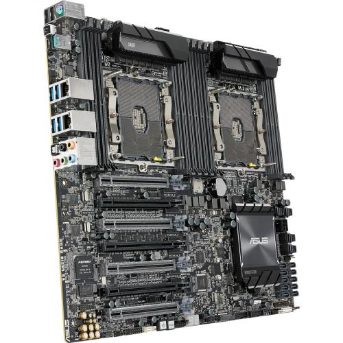 Asus WS C621E SAGE Workstation Motherboard   Intel Chipset   Socket P LGA 3647   SSI EEB Alternate-Image7/500