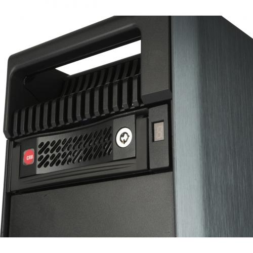 "CRU Data Express DE110 Drive Bay Adapter For 5.25"" Internal   Black Alternate-Image7/500"