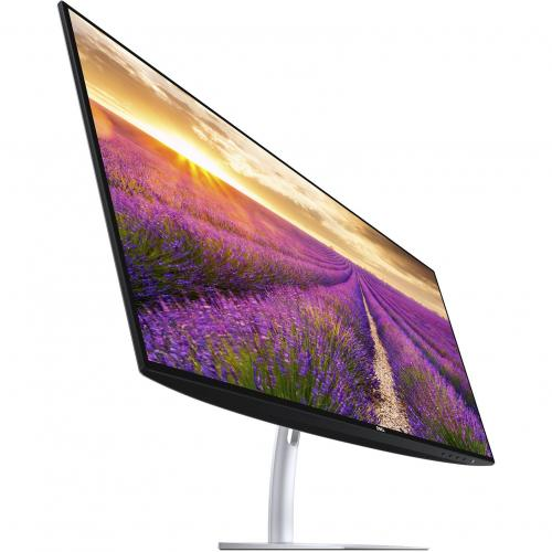 """Dell Ultra Thin 23.8"""" Monitor Black & Silver     1920 X 1080 Full HD Display   5ms Response Time   In Plane Switching Technology   Flicker Free Screen W/ Comfort View   Corning Iris Glass Light  Guide Plate Alternate-Image7/500"""