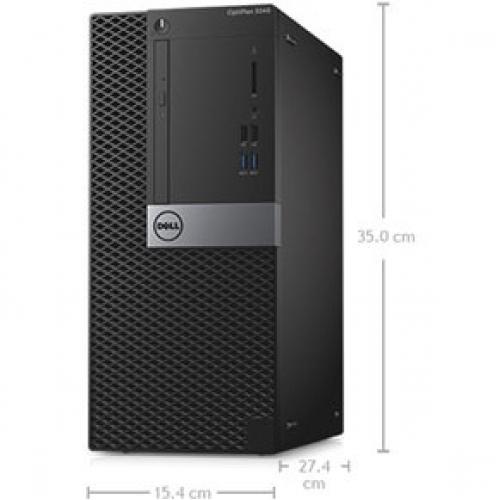 OPTIPLEX 3060 CORE I5 8 8500 8GB 1DIMMS 1TB 7.2K NO W10 Alternate-Image7/500