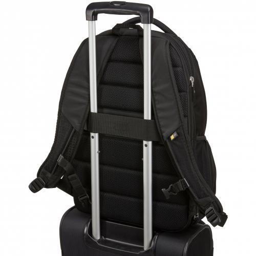 """Case Logic BEBP 315 BLACK Carrying Case (Backpack) For 15.6"""" Notebook   Black Alternate-Image7/500"""