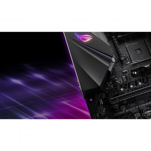 Asus ROG Strix B450 F GAMING Desktop Motherboard   AMD Chipset   Socket AM4 Alternate-Image7/500
