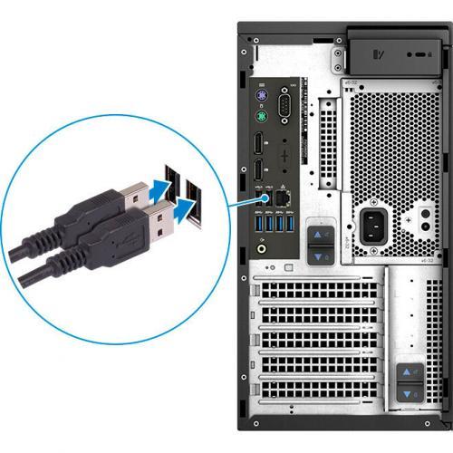 Dell Precision 3630 Workstation Intel Core I7 16GB RAM 1TB HDD 256GB SSD   8th Gen I7 8700K Hexa Core   NVIDIA Quadro P1000 4 GB Graphics   Intel Optane Memory Ready   Tower Form Factor   Windows 10 Pro Alternate-Image7/500